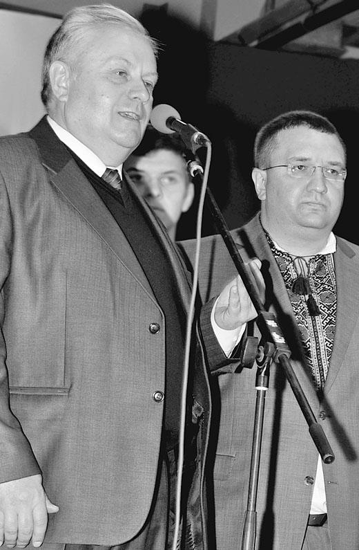 Володимир Хомко та Олег Червонюк — суперники?