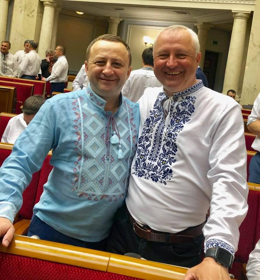 Василь Яніцький та Олександр Дехтярчук