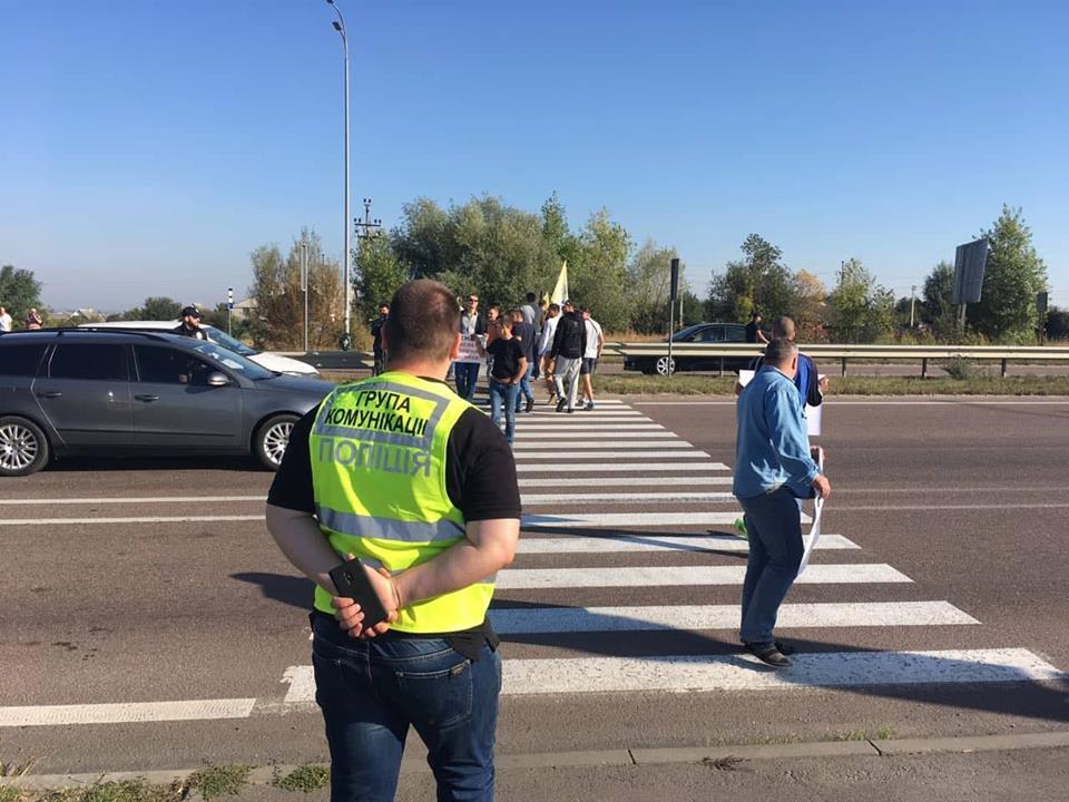 Протестувальники покинули міжнародні траси на Рівненщині
