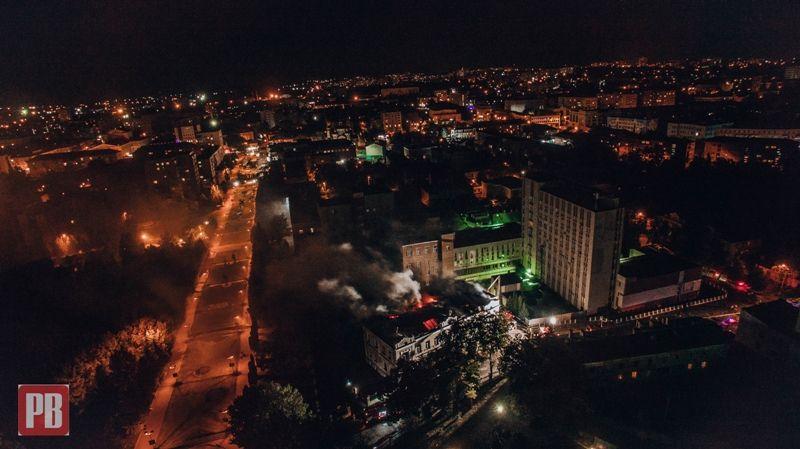 З'ясовано причину загоряння будинку, де кафе «Гранат» та музей Косміаді