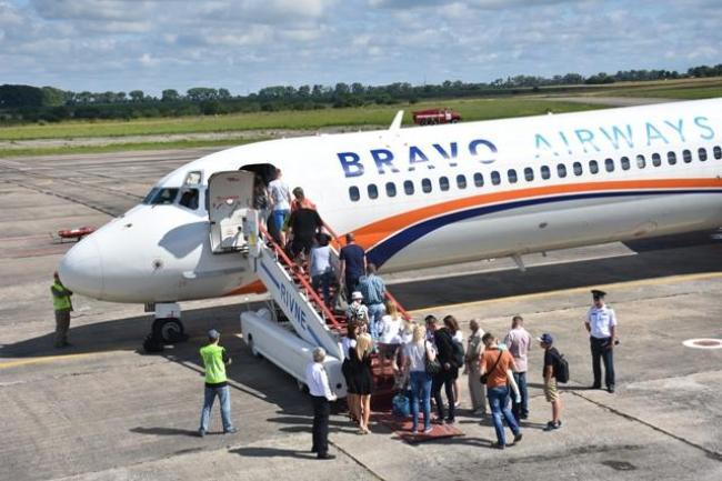Американська компанія зацікавилася рівненським аеропортом