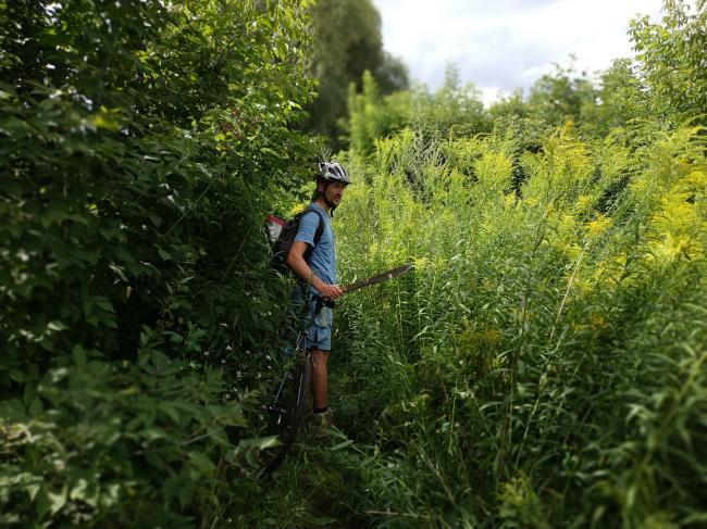 Рівнянин-мандрівник Юрій Ойцюсь знайшов посеред Рівного дику природу і  запрошує рівнян на прогулянку. 36b3290f3549a