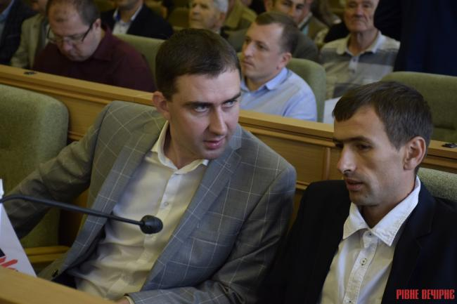 Депутат заявив, що подаватиме скаргу до поліції на першого заступника голови Рівненської облради