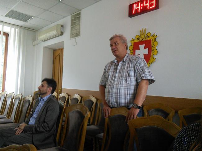 Павло Маєвський, головний лікар Острозької обласної психіатричної лікарні