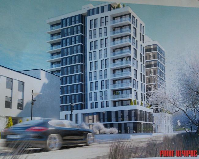 Інтер-Буд хоче збудувати на Кавказькій 13-поверхівку з комерційними, житловими та готельними площами
