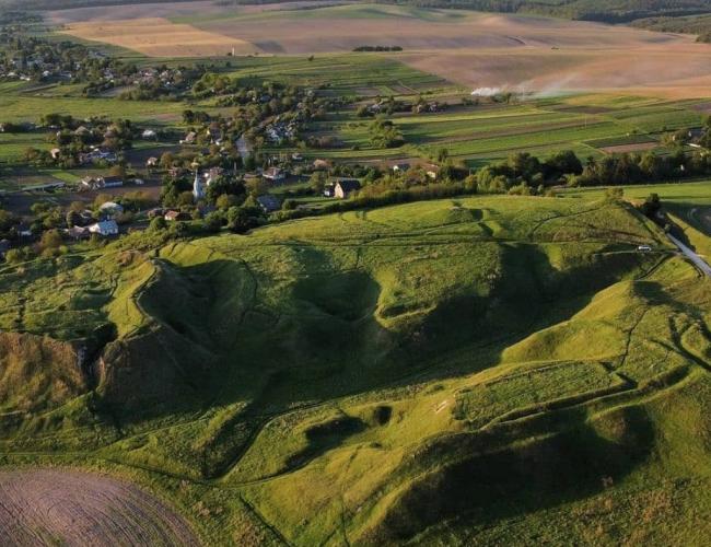 «Рівненська Ісландія» з висоти пташиного польоту (ВІДЕО, ФОТО)