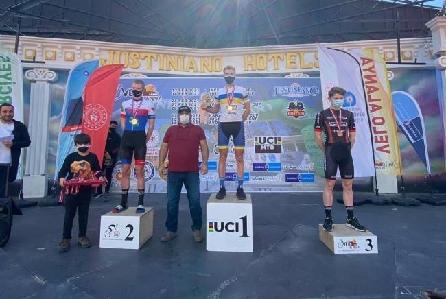 Рівненський велосипедист виграв гонку в Туреччині