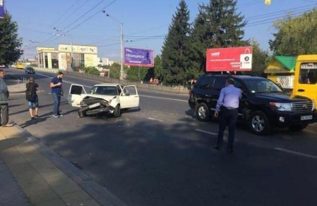 Водій «Тойоти», який спричинив ДТП у центрі Рівного, був тверезий