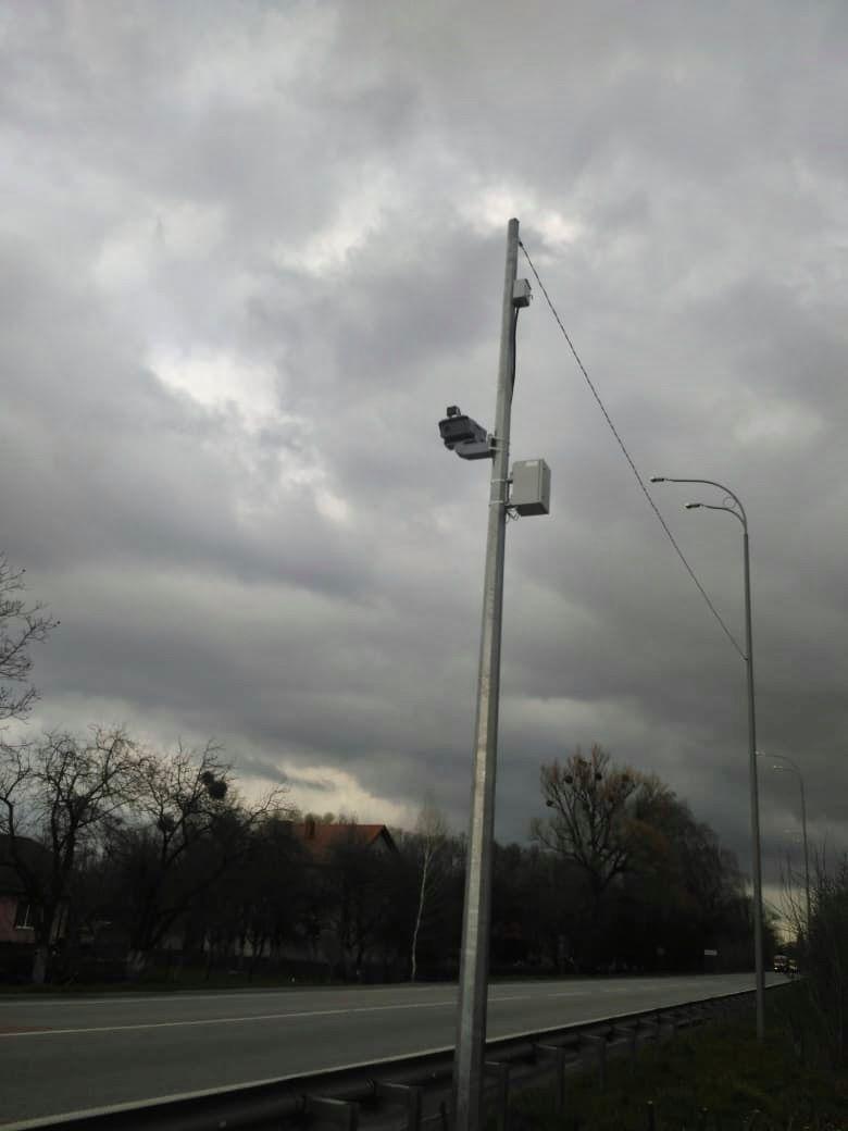 На Рівненщині встановили ще дві камери для фіксації порушень на дорозі