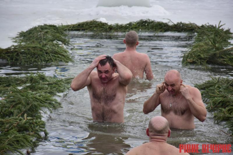 Рівненщина відсвяткувала Водохреще без порушень